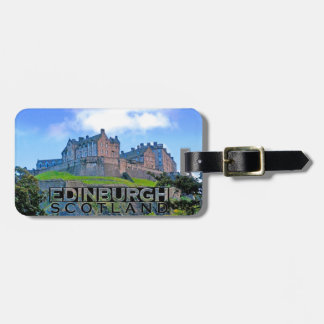 Edinburgh Luggage Tag