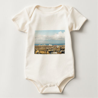 Edinburgh panorama baby bodysuit