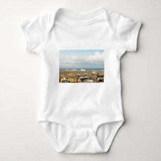 Edinburgh panorama baby bodysuit