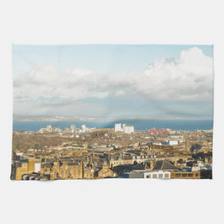 Edinburgh panorama kitchen towels
