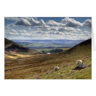 Edinburgh Pentland Hill View Card