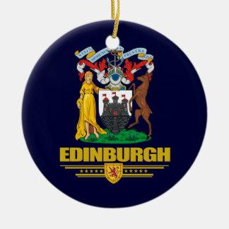 Edinburgh Round Ceramic Ornament