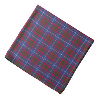 Edinburgh Scotland District Tartan Bandana