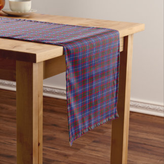 Edinburgh Scotland District Tartan Short Table Runner