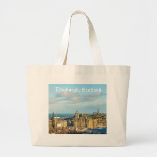 Edinburgh, Scotland Large Tote Bag