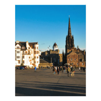 Edinburgh, Scotland Letterhead Template