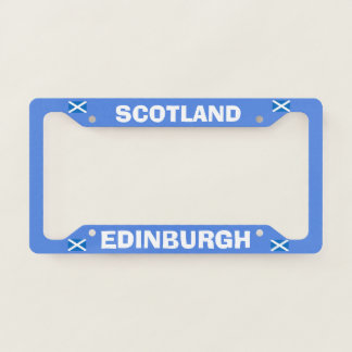 Edinburgh Scotland License Plate Frame