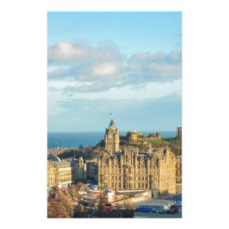 Edinburgh, Scotland Personalized Stationery
