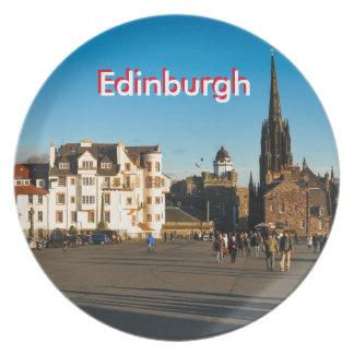 Edinburgh, Scotland Plates