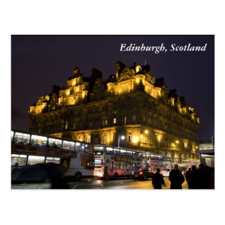 Edinburgh, Scotland Postcard