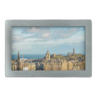 Edinburgh, Scotland Rectangular Belt Buckle