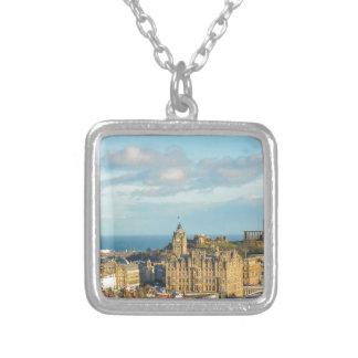 Edinburgh, Scotland Silver Plated Necklace