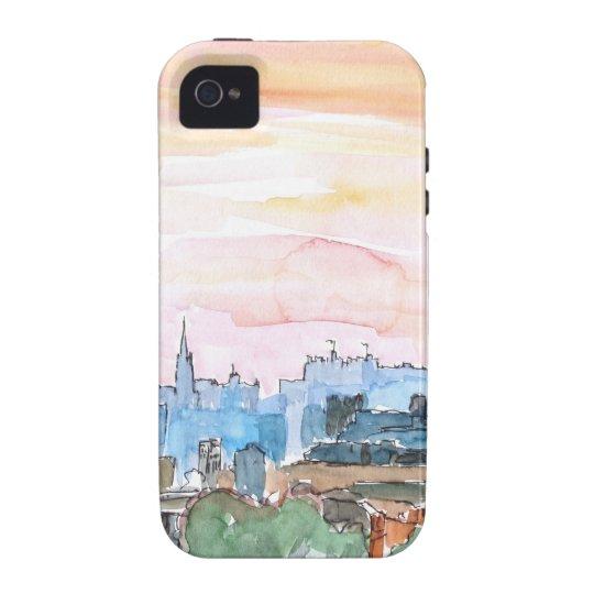 Edinburgh Scotland Skyline at Dusk Case-Mate iPhone 4 Cover