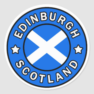 Edinburgh Scotland sticker