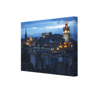 Edinburgh Skyline Canvas Print