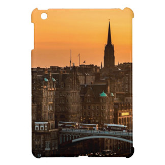 Edinburgh Skyline Sundown Cover For The iPad Mini