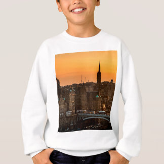 Edinburgh Skyline Sundown Sweatshirt