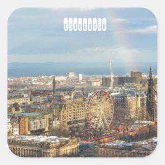 Edinburgh Square Sticker