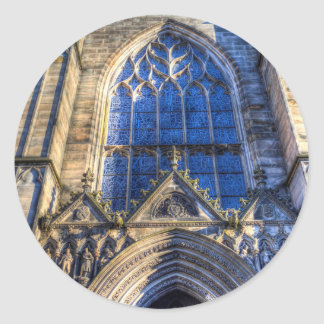 Edinburgh St Giles Cathedral Classic Round Sticker