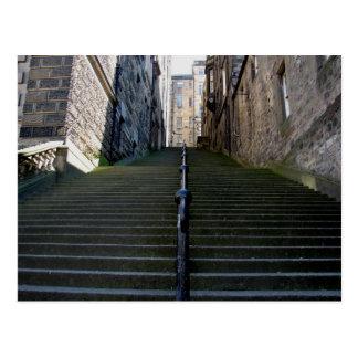 Edinburgh Stairs postcard