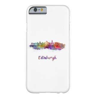 Edinburgh V2 skyline in watercolor Barely There iPhone 6 Case