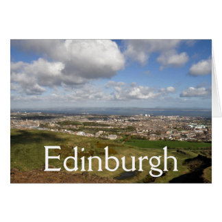 Edinburgh Vista Greeting Card