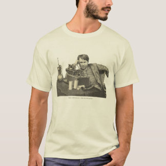Edison at the Phonograph T-Shirt