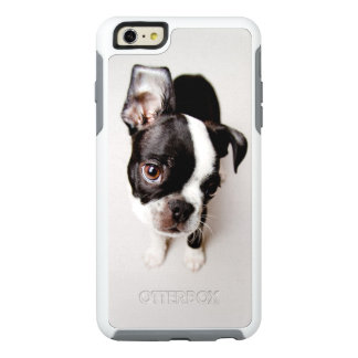 Edison Boston Terrier puppy. OtterBox iPhone 6/6s Plus Case