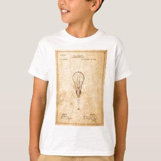 Edison Bulb Patent T-Shirt