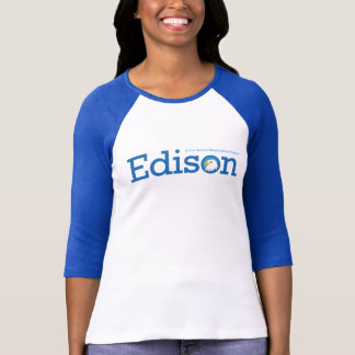 Edison Ladies Ringer T-Shirt
