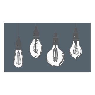 Edison Light Bulbs Pack Of Standard Business Cards