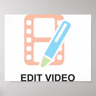 Edit Video Poster