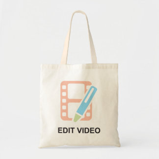 Edit Video Tote Bag