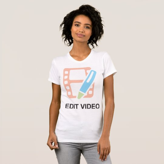 Edit Video Womens T-Shirt