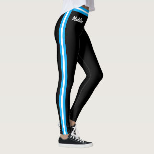 Edit Your Name and Your Colours with Side Stripe Leggings