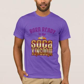 (Editable) Born Ready (in the) Soca Kingdom T-Shirt