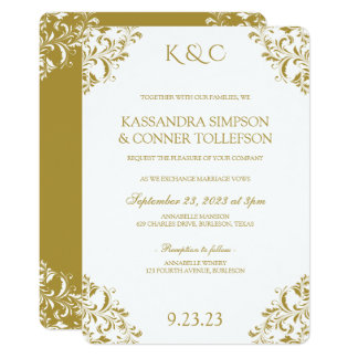 EDITABLE DESIGN COLORS* Nadine Invitation Template