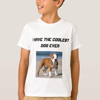 Editable Dog on the Beach T-Shirt