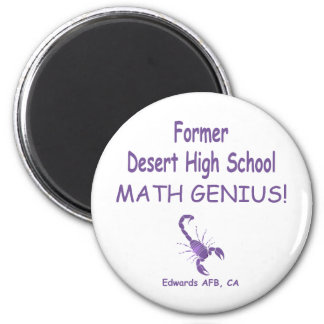 Editable Former DHS 2 Inch Round Magnet