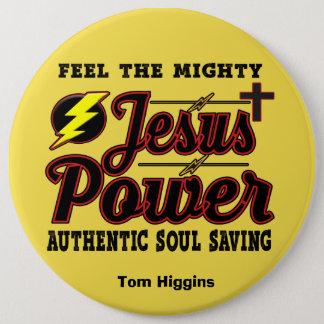 Editable Jesus People Button