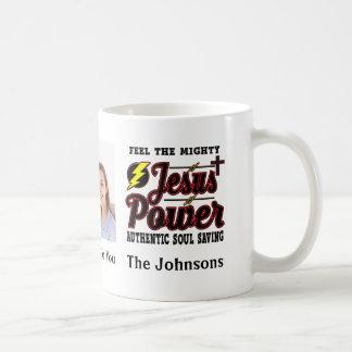 Editable Jesus Power Coffee Mug