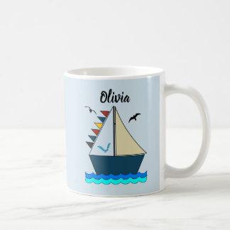 Editable Let's Sail Away Morphing Mug