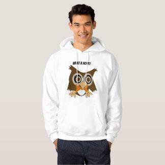 Editable Oldrich The Owl Hoodie