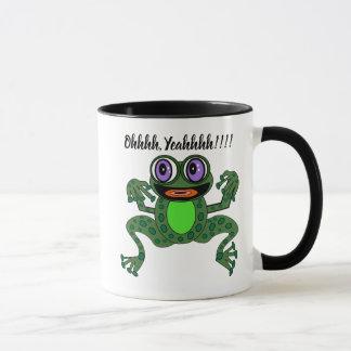 Editable Purps The Exuberant Frog Combo Mug