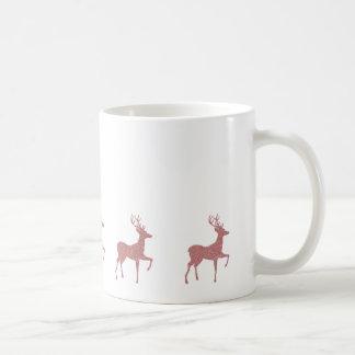 EDITABLE Rose Gold Christmas Coffee Mug