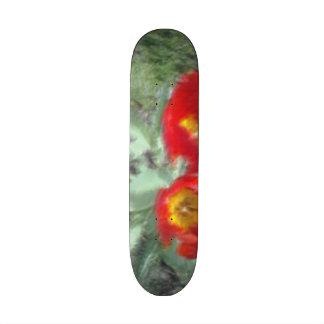 Edited Flower Photo Skate Board