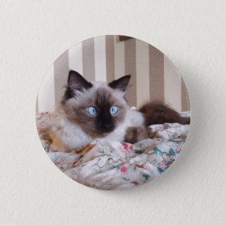 Edith 2 Inch Round Button