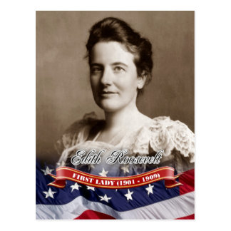 Edith Roosevelt, First Lady of the U.S. Postcard