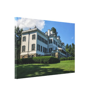 Edith Wharton Mansion Canvas Print