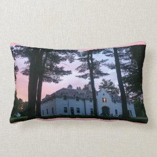 Edith Wharton Mansion Carriage House Lumbar Pillow